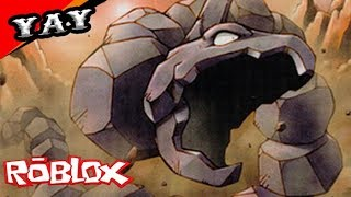 I played Pokemon Legends 2 on Roblox I made a mess of Onix...