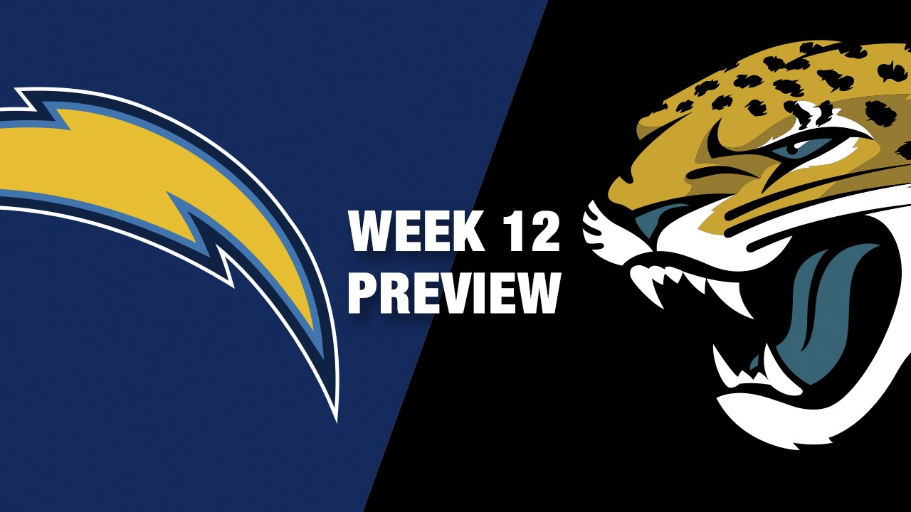 chargers vs. jaguars preview (week 12) | nfl - youtube