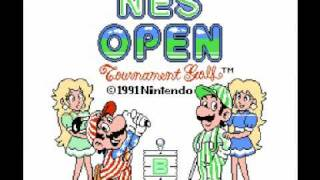 NES Open Tournament Golf (NES) Music - Save Game Theme