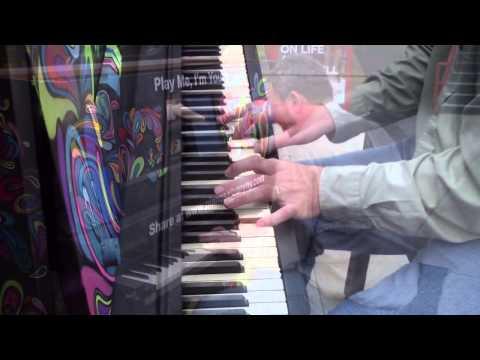 Street Piano, Times Union Center, Albany, NY