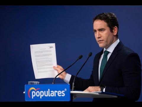 García Egea: «El pacto PSOE-UP se hizo mirando a la cárcel de Lledoners y no mirando a la Región»