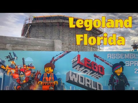 The Lego Movie World Construction Update for Legoland Florida (December 2018)