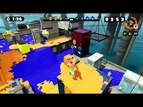 Splatoon Global Testfire #37 - Splat Charger at Saltspray Rig