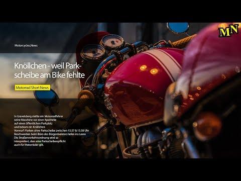 Parkscheibenpflicht für Motorräder