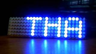 24X6 LED matrix