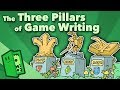 The Three Pillars of Game Writing - Plot, Character, Lore - Extra Credits