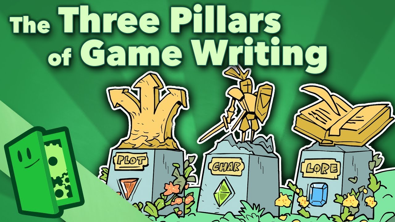 The Three Pillars of Game Writing – Plot, Character, Lore – Extra Credits