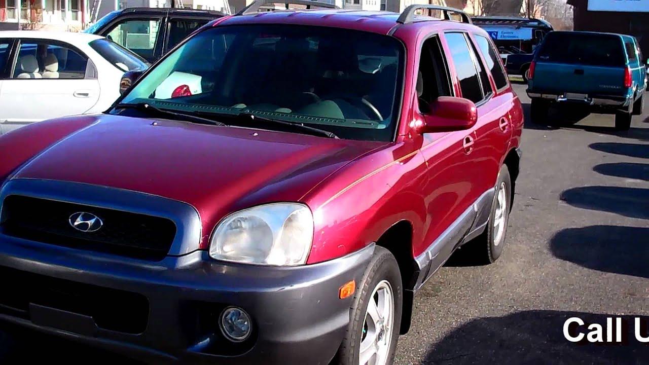2002 Hyundai Santa Fe Gls 4wd 4dr Suv 2 7l V6 At Youtube