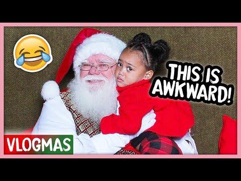 Ziya Acts Shady to Santa! | Vlogmas Ep. 9