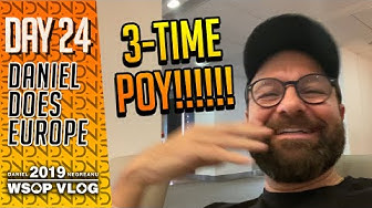 WSOPE Wrap Up, Headed Home a 3-Time WSOP POY! -  2019 WSOPE VLOG DAY 24