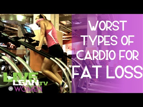 Worst Types of Cardio for Fat Loss For Women