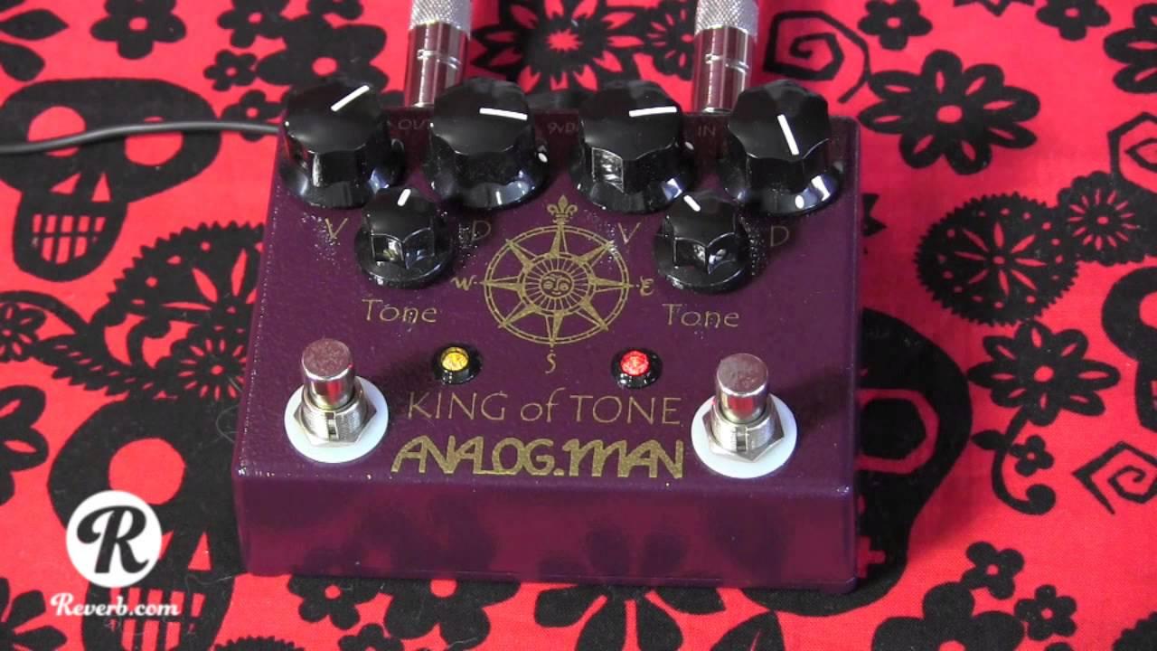 analogman king of tone v4 high gain red side pedal demo with blues jr sg youtube. Black Bedroom Furniture Sets. Home Design Ideas
