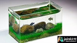 DIY. Aquarium with RESIN. Fish Tank 🐟 / ART RESIN