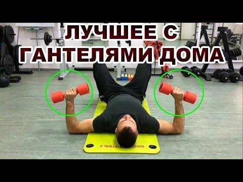 Комплекс упражнений с гантелями видео уроки