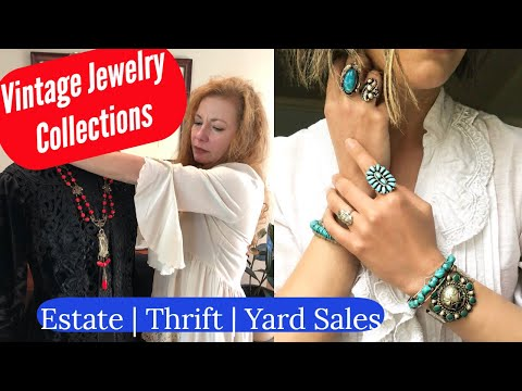 Ep 6 Vintage Jewelry Collecting ~ How to Test Bakelite ~ How