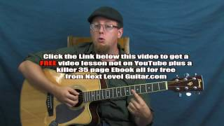 Acoustic guitar lesson DADGAD open tuning Led Zeppelin inspired Black Mountain Side style