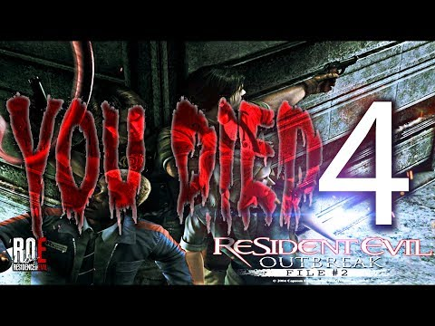 RESIDENT EVIL OUTBREAK: File 2 | Chapter 4 - Desperate Times | ROE Team FAIL!!!