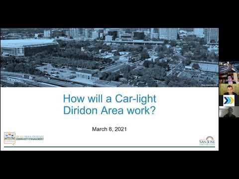 How will a Car-light Diridon area work   March 8, 2021