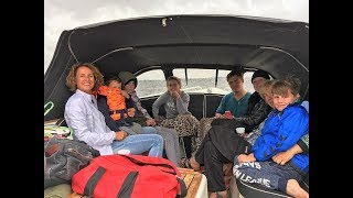 All day in a boat Uitgeest, Alkmaar, Ursem Schermerhorn Driehuizen And The Woude 24-06-2017 Vlog 225
