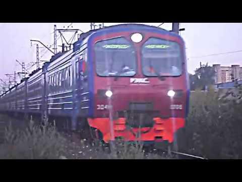"""Электропоезд ЭД4М-0396 """"РЭКС"""" Регион-экспресс' - Ногинск, перегон Захарово — Ногинск"""