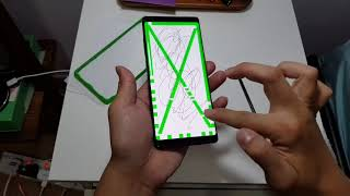 Galaxy Note 8 Tempered Glass Screen Protector Test OTAO Bran
