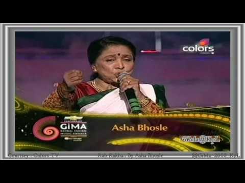 RAB RAKHA  ASHA BHOSLE Full Sg @ GIMA AWARDS 2010