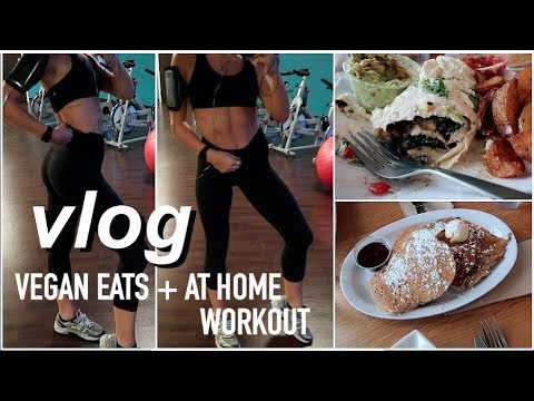 Weekend Vlog | Places in Minneapolis, VEGAN meals, at home Workout & MORE!