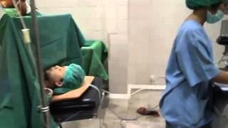 Operasi cesar dengan dr. Taufik Jamaan 09-11-14