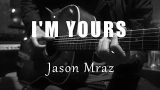 I'm Yours - Jason Mraz ( Acoustic Karaoke )