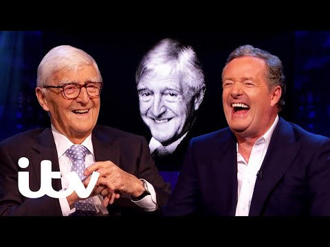 Michael Parkinson's Very Honest Review of Piers' Interview Skills!   Piers Morgan Life Stories   ITV