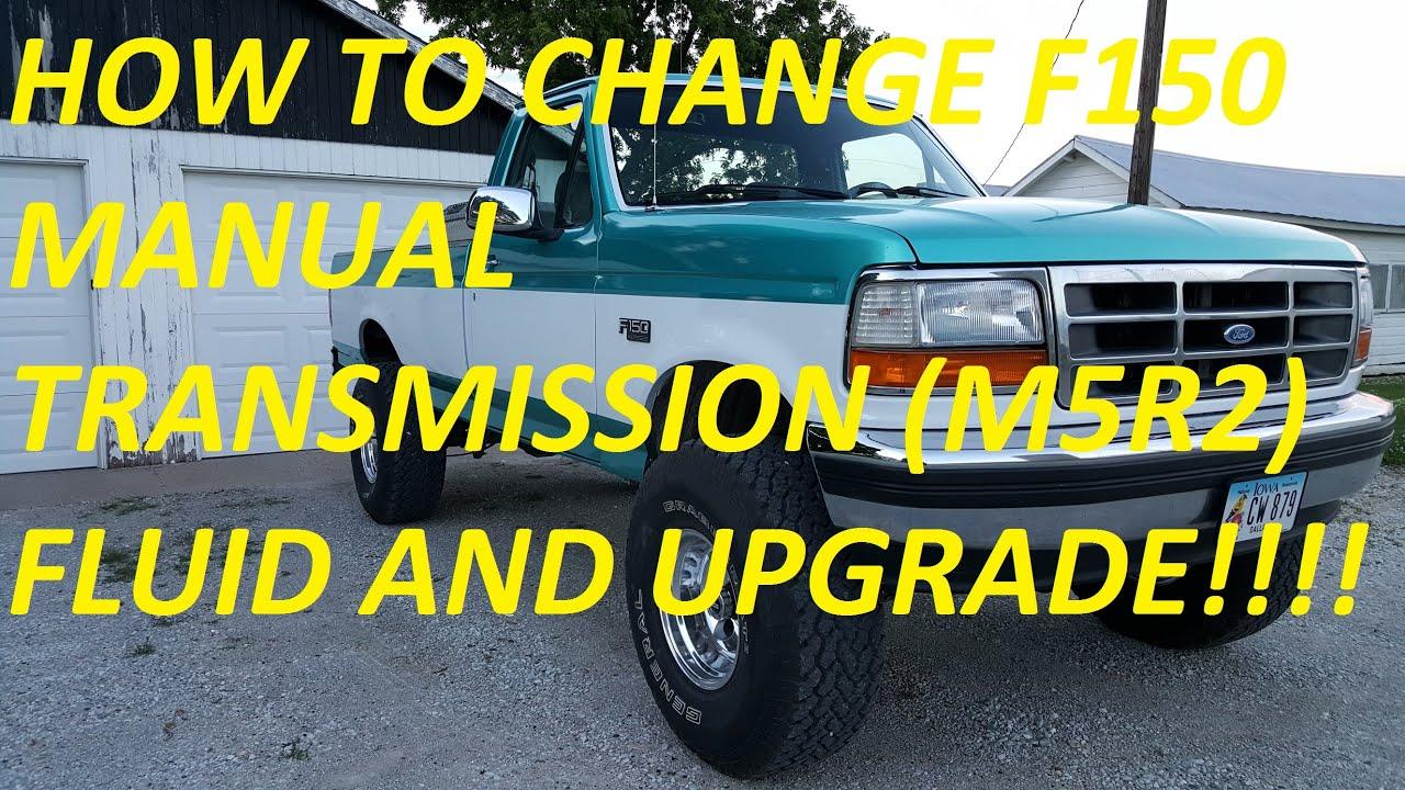 m5od r2 oil change using pennzoil synchromesh youtube rh youtube com 1999 ford f150 manual transmission fluid change Ford Ranger Manual Transmission Fluid