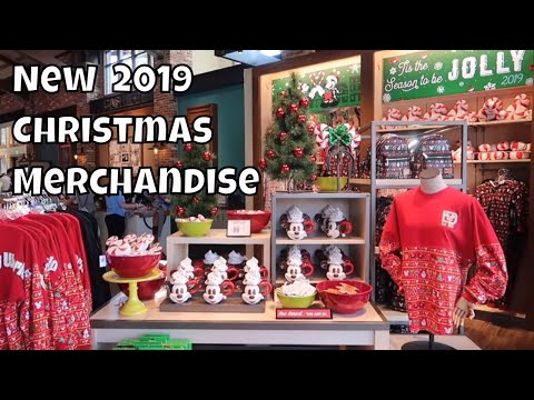 New 2019 Christmas Merchandise at World of Disney - Walt Disney World 2019