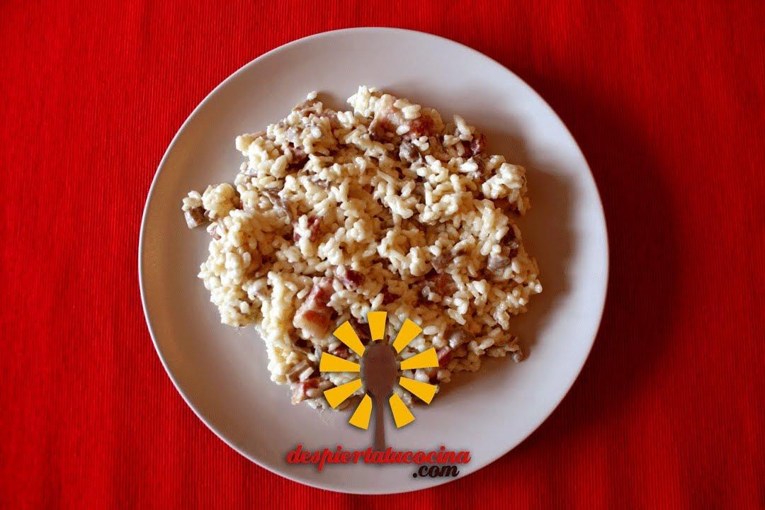 C mo preparar risotto de setas youtube for Como cocinar risotto de setas