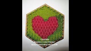 Hexagon Weaving Techniques Tapęstry technique
