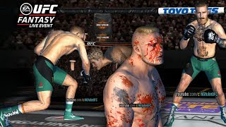 UFC mobile FANTASY Live Event Rodriguez vs. Northcutt (MOD - Mcgregor Boxer Shoes, Bloody Lesnar)