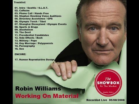 Robin Williams Live - Working On Material - Exclusive - Audio Only