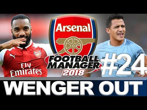 ARSENAL | PART 24 | START OF THE SEASON | FOOTBALL MANAGER 2018