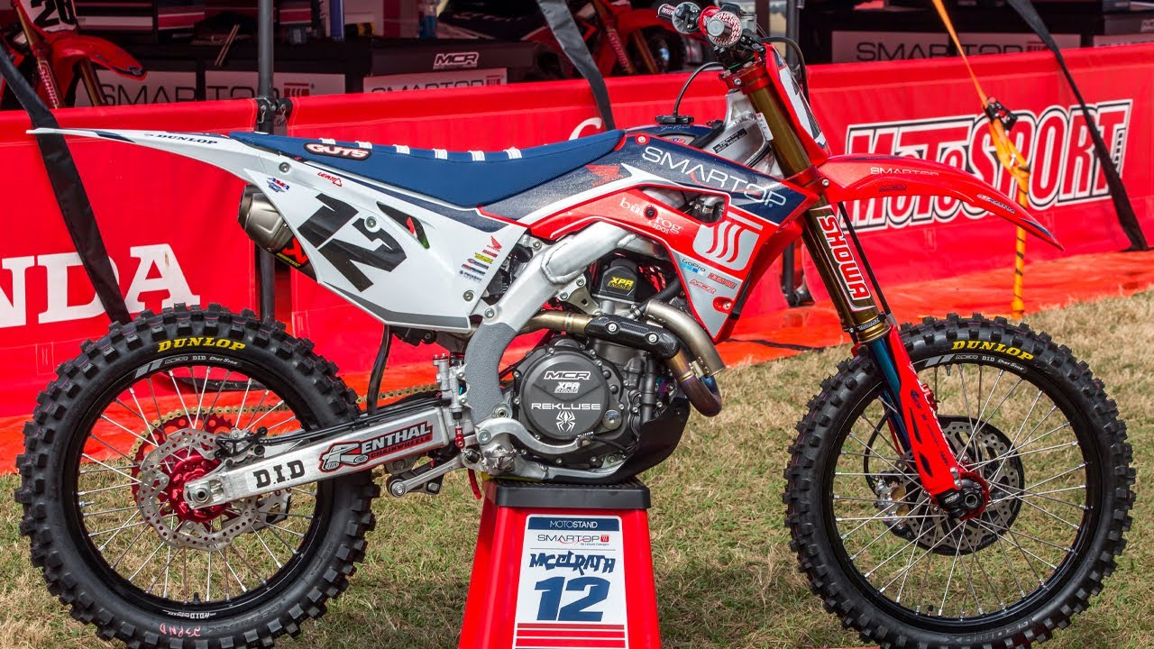Inside Shane McElrath's MotoConcepts Honda CRF450 - Motocross Action Magazine