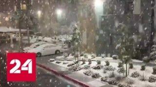 Лас-Вегас засыпало снегом - Россия 24