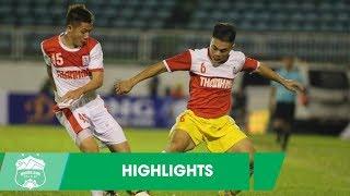 Highlights | U21 Hoàng Anh Gia Lai - U21 Hồng Lĩnh Hà Tĩnh | Một loạt siêu phẩm trên SVĐ Pleiku