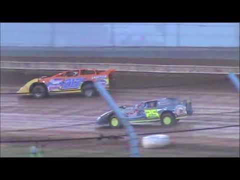 Brett McDonald B-Main Sharon Speedway 7/28/18