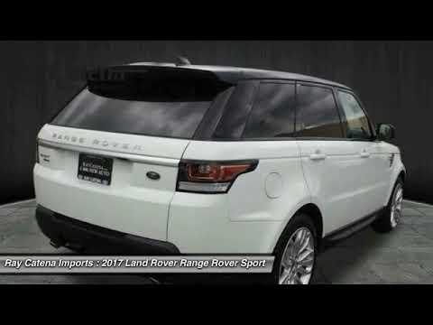 2017 Land Rover Range Rover Sport EDISON NJ L17658 - YouTube