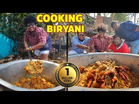 10 kg Mutton Biryani village cooking with family