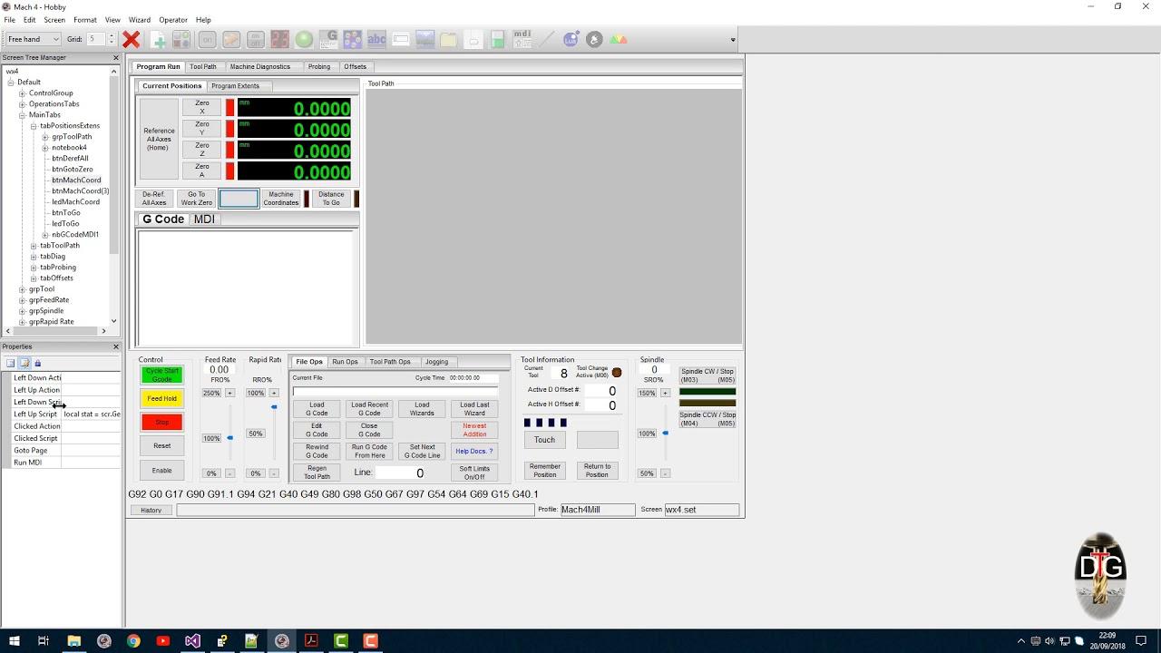 Mach4 linux