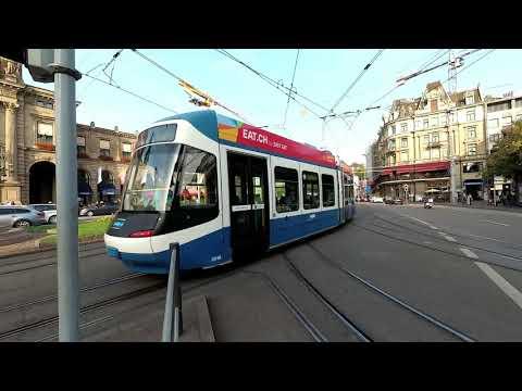 Trams in Zurich, Switzerland