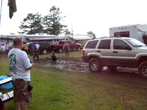 Rednecks at a Darlington campground