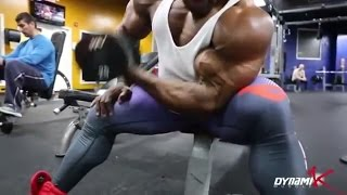 kai greene (Biceps and Triceps) WORKOUT