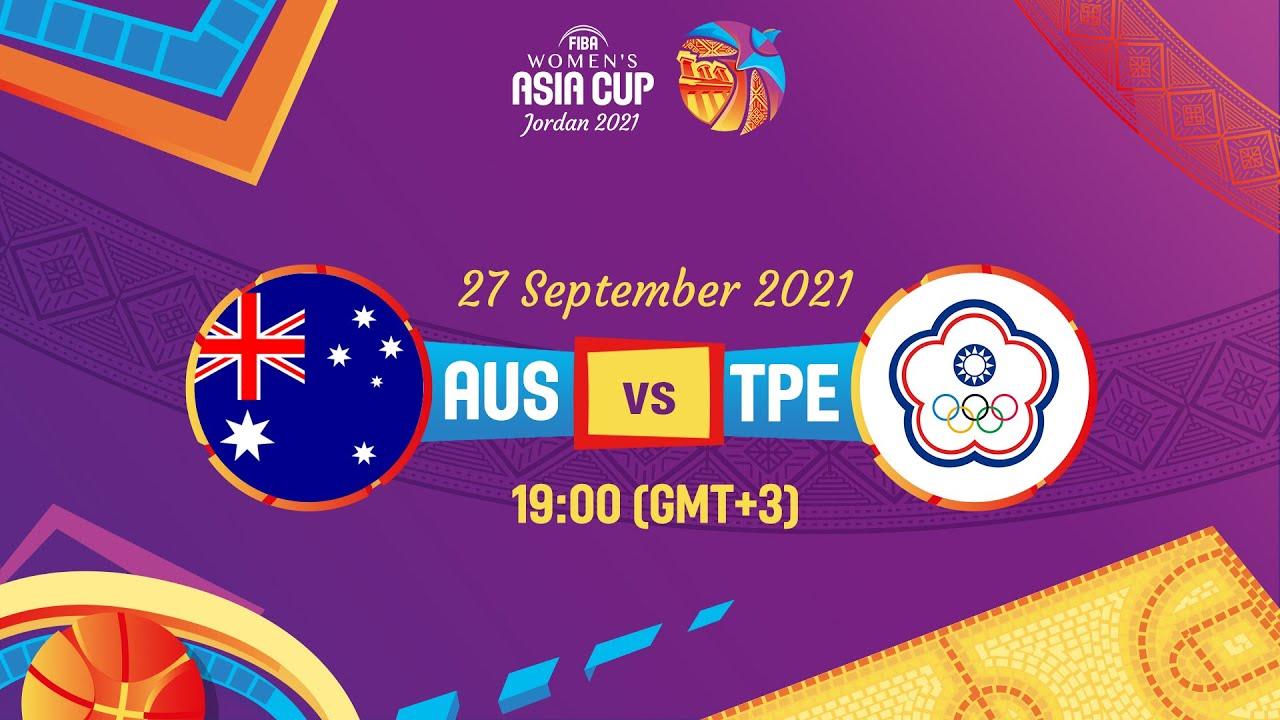 Australia v Chinese Taipei   Full Game - FIBA Women's Asia Cup 2021 - Division A