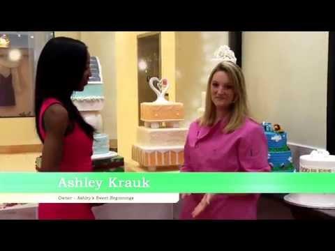 Chardelle Interviews Ashley Krauk, founder of Ashley's Sweet Beginning Cafe!
