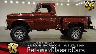 1965 Chevrolet C10 Stock #7017 Gateway Classic Cars St. Louis Showroom